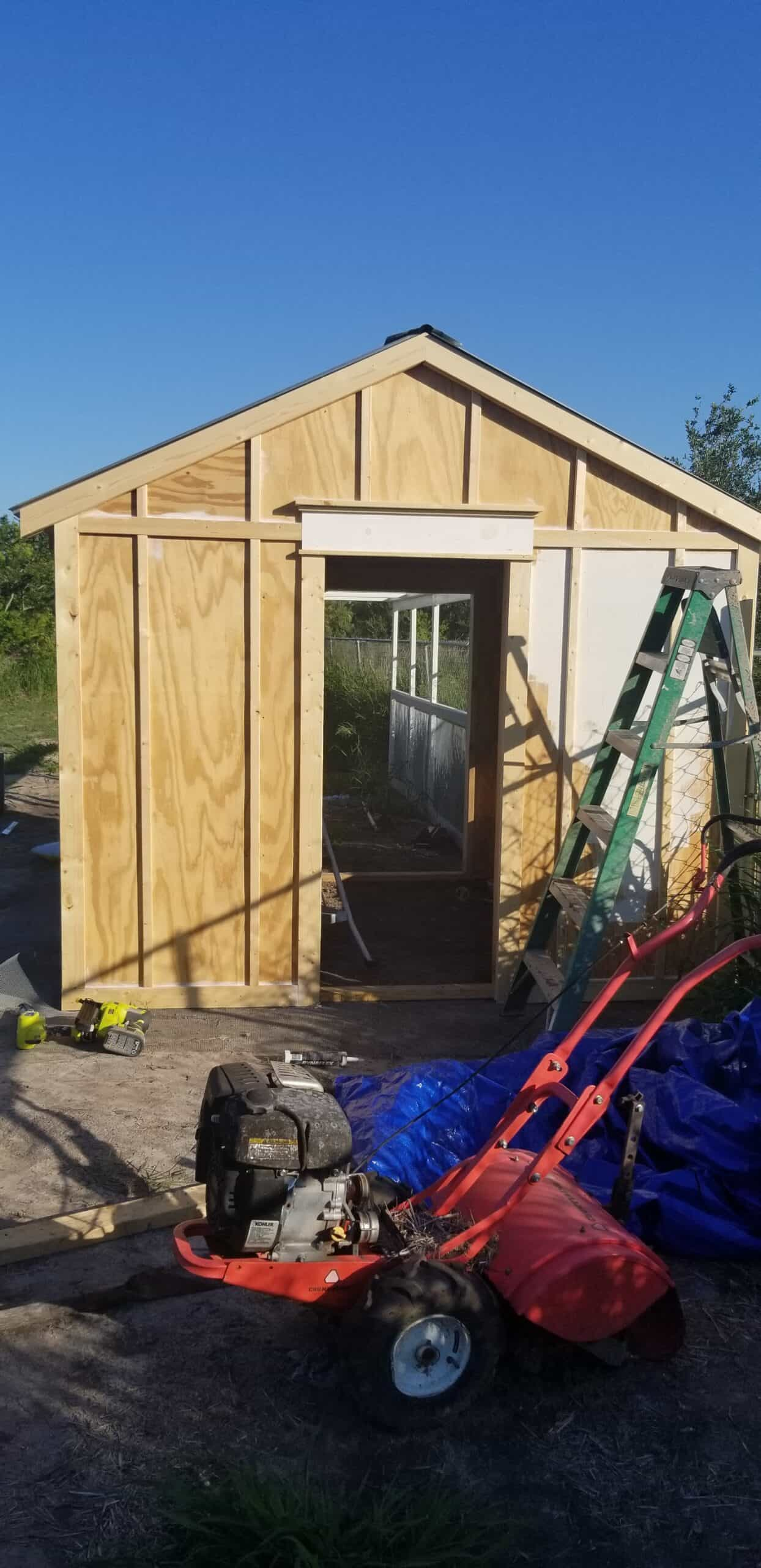DIY Plans for Large Chicken Coop