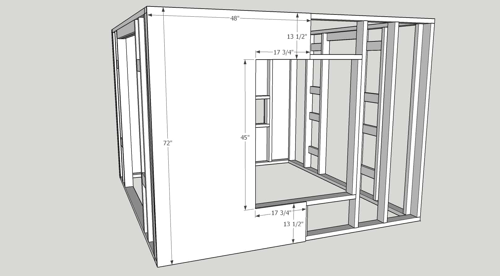 Plans for DIY Chicken Coop - Large size chicken coop with run