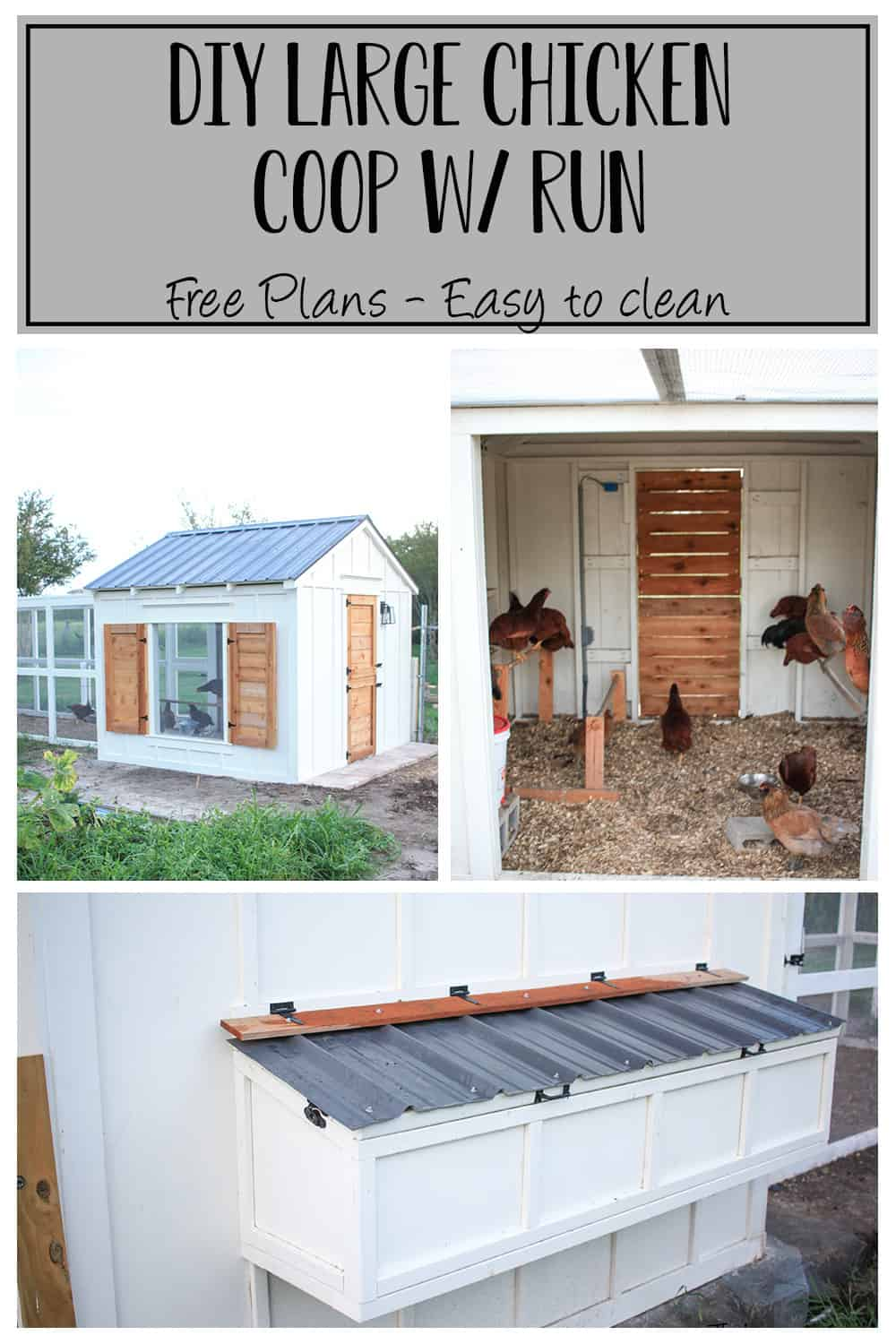 DIY PLans for Chicken Coop