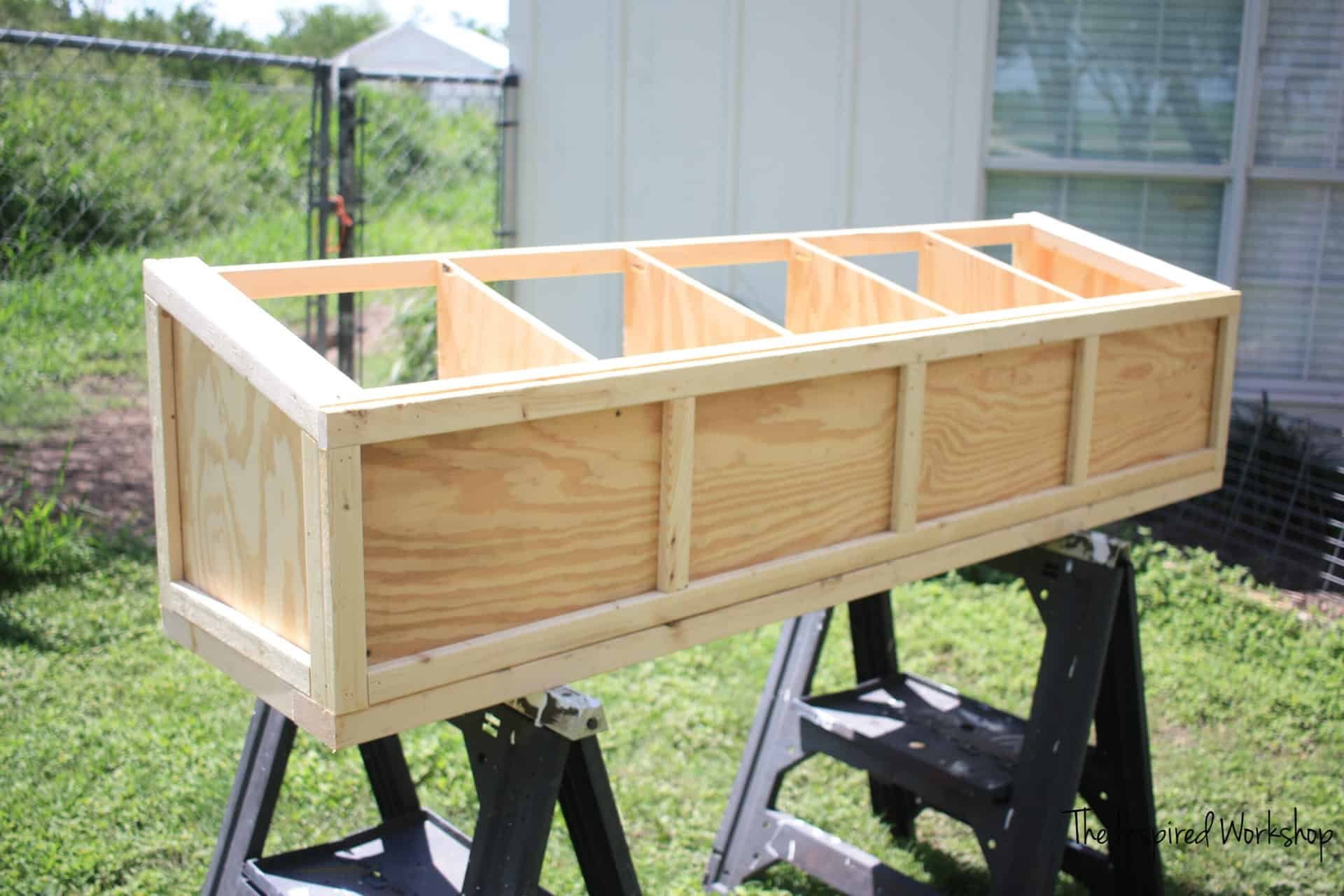 DIY Nesting Boxes for Chicken Coop