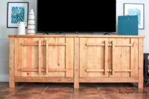 DIY TV Stand / Media Console