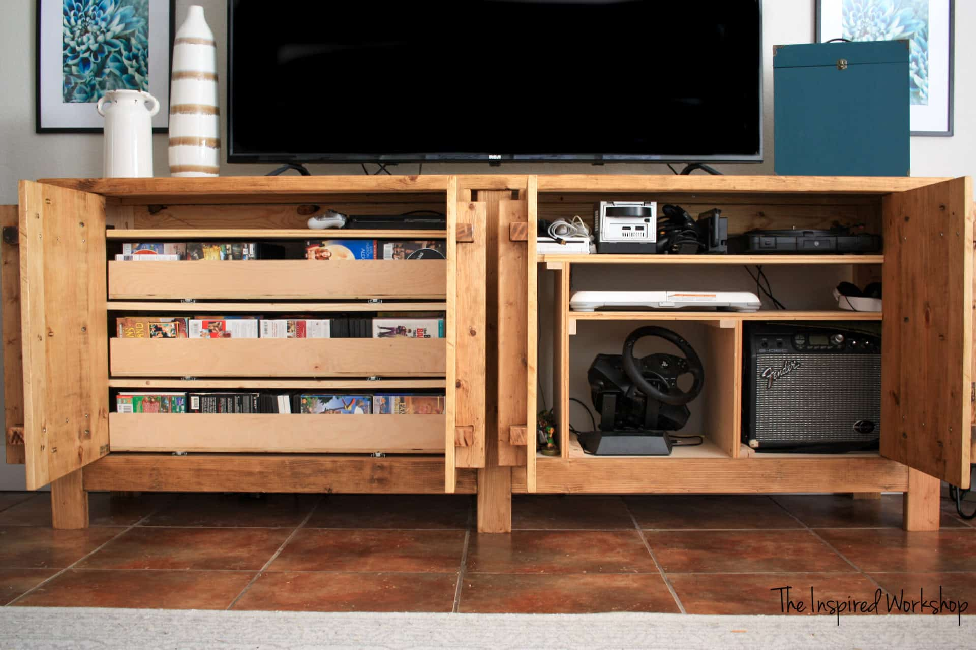 DIY Media Cabinet