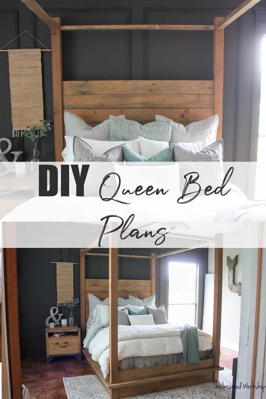 Queen Restoration Hardware Bed Plans