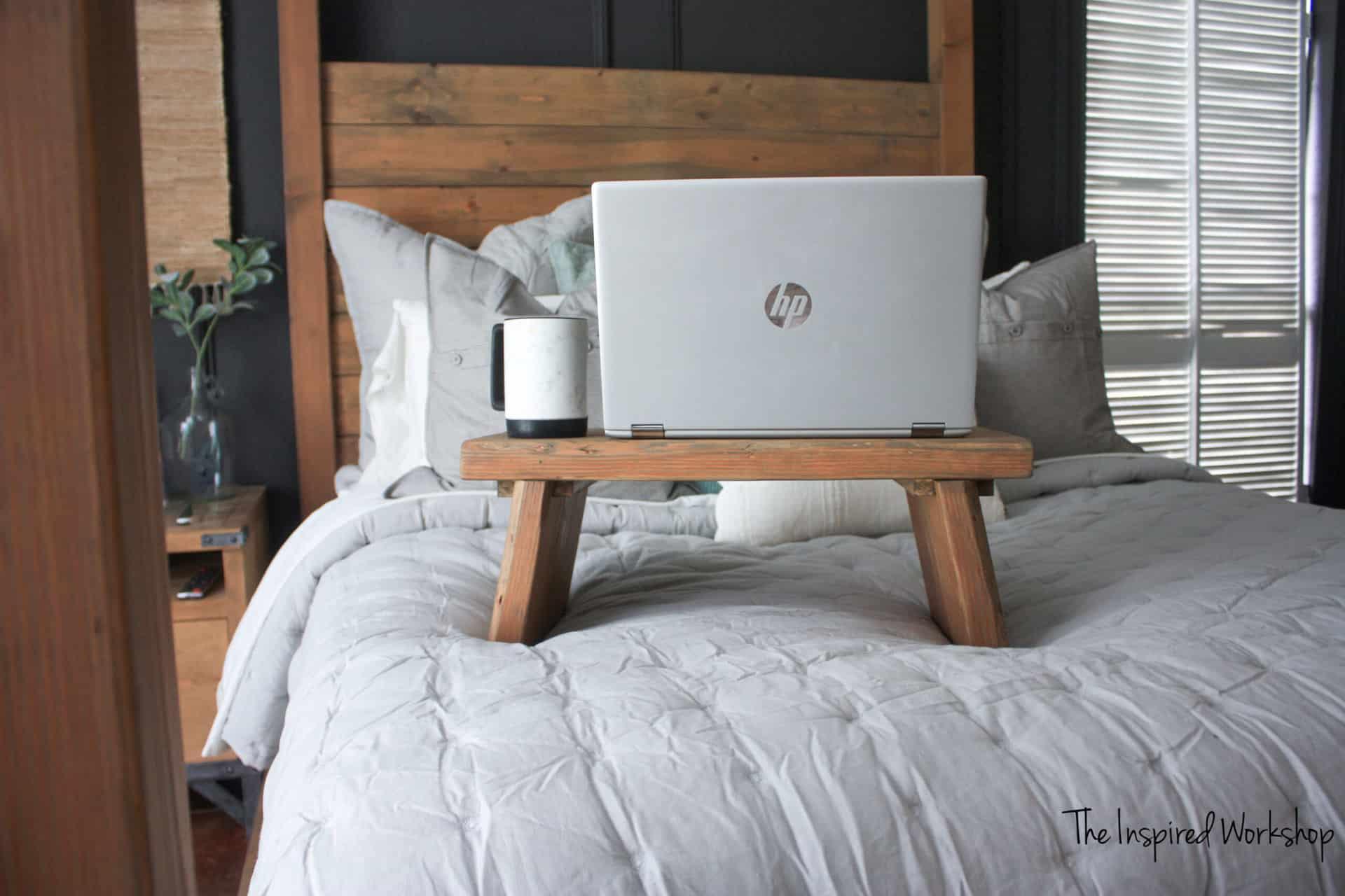 DIY Lap Desk for Bed