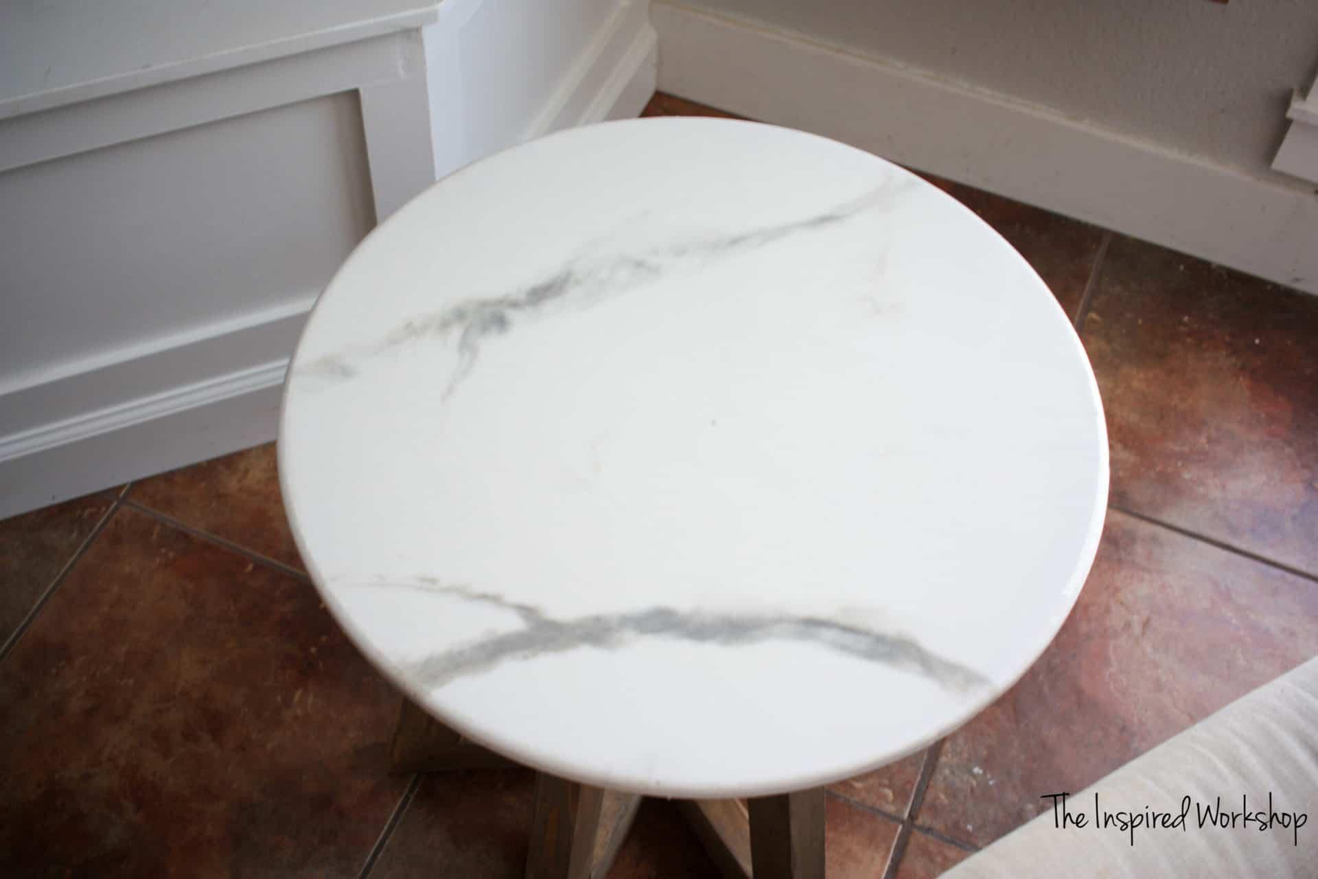 Round Epoxy Table Top
